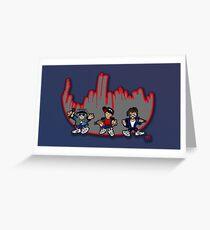 Beasties Greeting Card