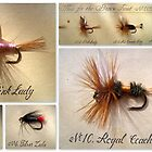 Flies for the Brown Trout by ©The Creative  Minds