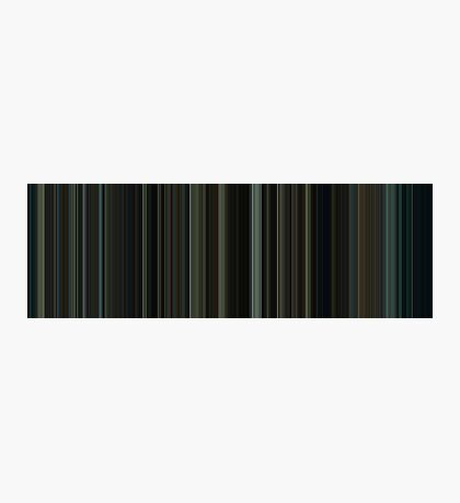Moviebarcode: Fight Club (1999) [Simplified Colors] Photographic Print