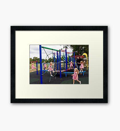 Look at Me Mummy Framed Print