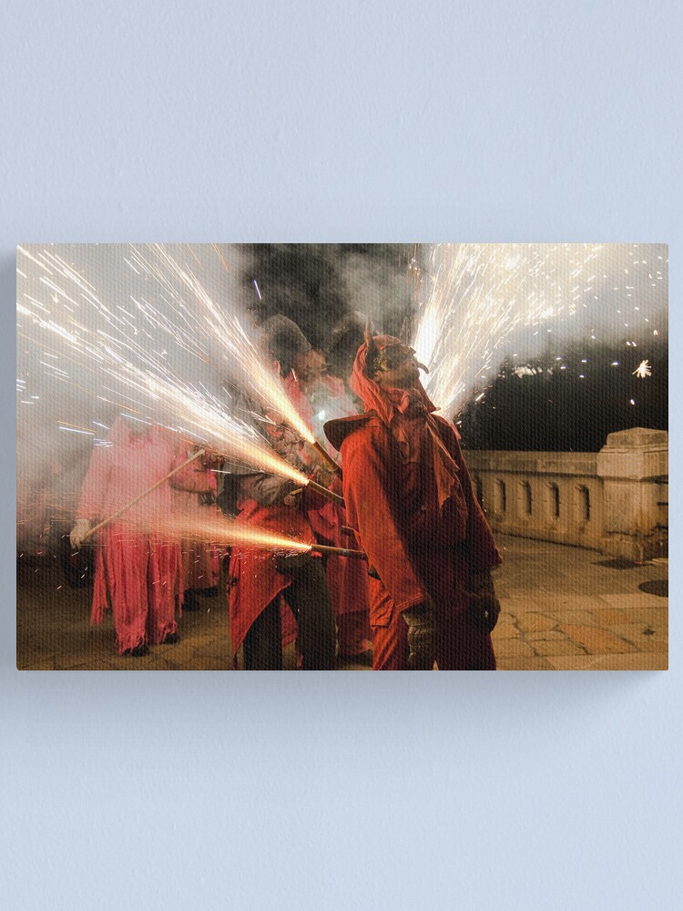 Alternate view of Light me up Canvas Print