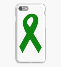 Green Ribbon iPhone Case/Skin