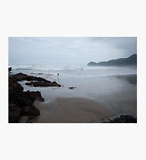 Lámina fotográfica Piha beach