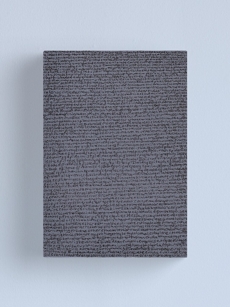 "Alternate view of ""Dictionary 19"" (elusive-evangelise) Canvas Print"