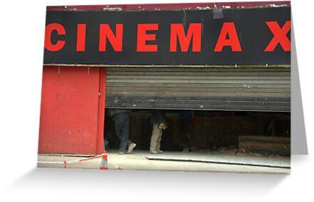 Paris - CINEMA X by Jean-Luc Rollier