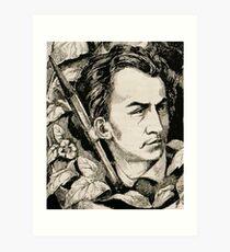 Achille Lemot Autoportrait Art Print