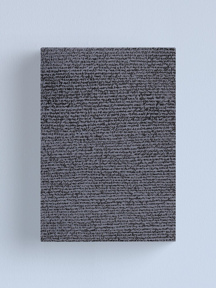 """Alternate view of """"Dictionary 39"""" (medicate-modernise) Canvas Print"""