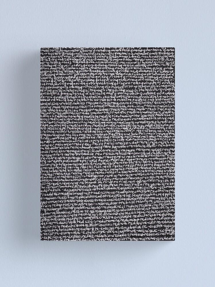 "Alternate view of ""Dictionary 52"" (quarterdeck-reheat) Canvas Print"