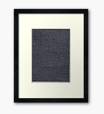 """""""Dictionary 59"""" (single hearted-somnambulism) Framed Print"""