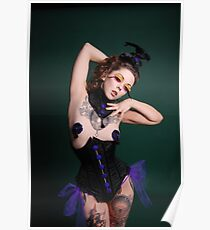 Apnea in Jupiter Moon 3 corset  Poster