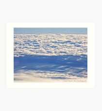 Above the Clouds 2 Art Print