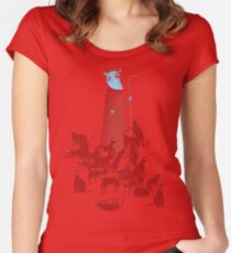Herding Cats Women's Fitted Scoop T-Shirt