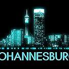Johannesburg Skyline von MilitaryCandA