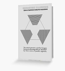 Psychology of Shapes Greeting Card