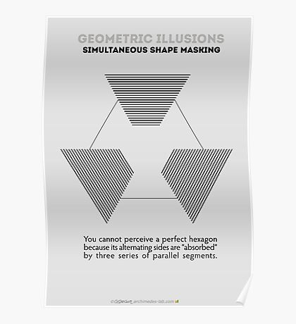 Psychology of Shapes Poster