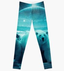 The Queen of the North Pole Leggings
