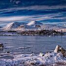 Rannoch Moor in Winter by Mark White