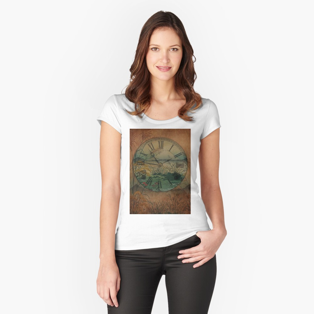 Behind Time Fitted Scoop T-Shirt