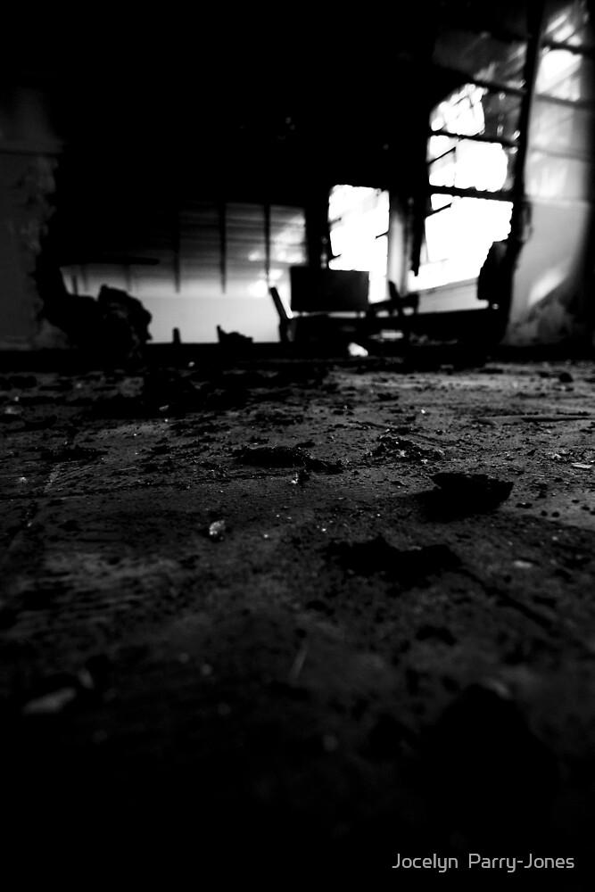 All burned out by Jocelyn  Parry-Jones