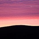 Purple Haze - Baylys Beach sunrise - NZ  by Jenny Dean