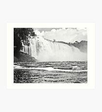 Waterfalls, Canaima Lagoon Art Print