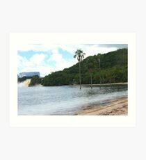 Canaima Lagoon Art Print