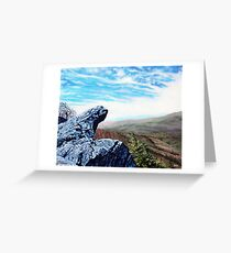 'The Blowing Rock' Greeting Card