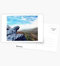 'The Blowing Rock' Postcards