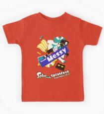 Splatfest Team Messy v.1 Kids Tee