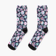 Kaleidoscope Crystals  Sock