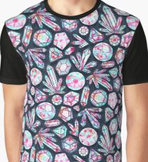 Kaleidoscope Crystals  Graphic T-Shirt