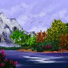 Spring Lake in the Mountains by teresa731