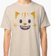 Emoji Cute grinning cat face Classic T-Shirt