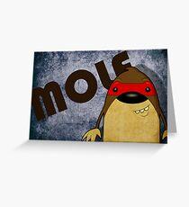 Mole Greeting Card