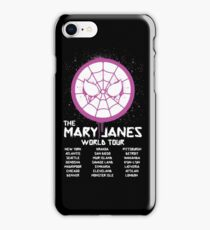 Mary Jane`s World Tour iPhone Case/Skin