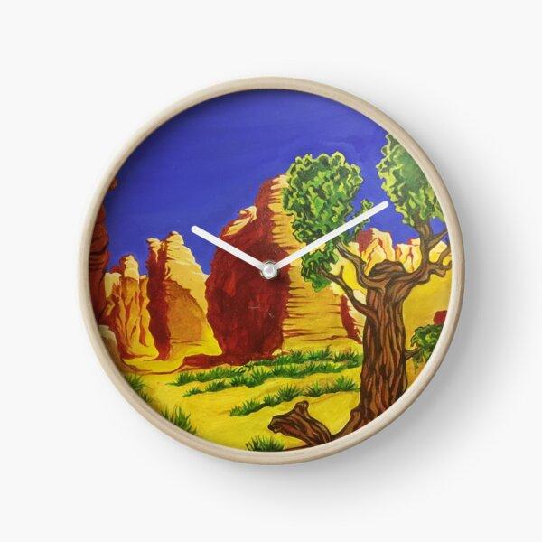 Desert Landscape Clock