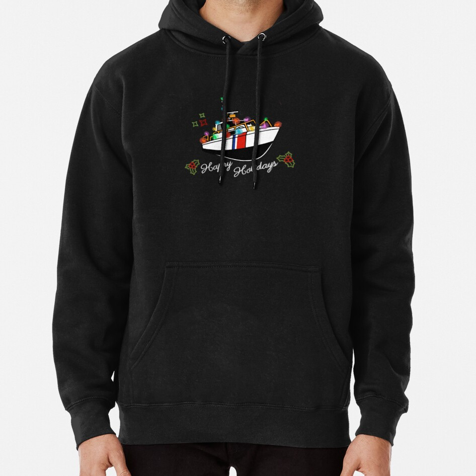 Coast Guard Lighted Boat Parade 41 UTB Pullover Hoodie