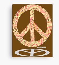 HIPPIE PEACE Canvas Print