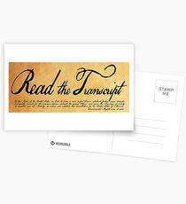 Read The Preamble Postcards