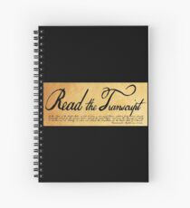 Read The Preamble Spiral Notebook