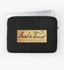 Read The Preamble Laptop Sleeve