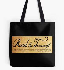 Read The Preamble Tote Bag