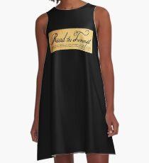 Read The Preamble A-Line Dress