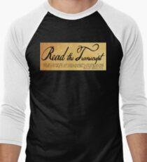 Read The Preamble Baseball ¾ Sleeve T-Shirt