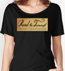 Read The Preamble Relaxed Fit T-Shirt