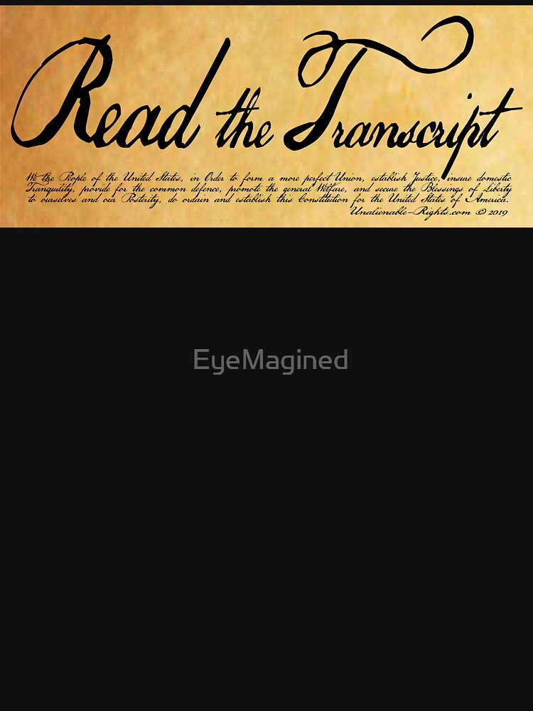 Read The Preamble by EyeMagined