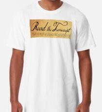 Read The Preamble Long T-Shirt