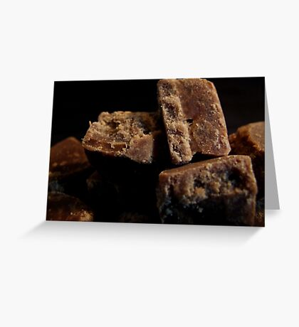 Ginger Fudge Greeting Card