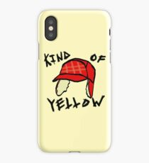 Kind of Yellow iPhone Case/Skin