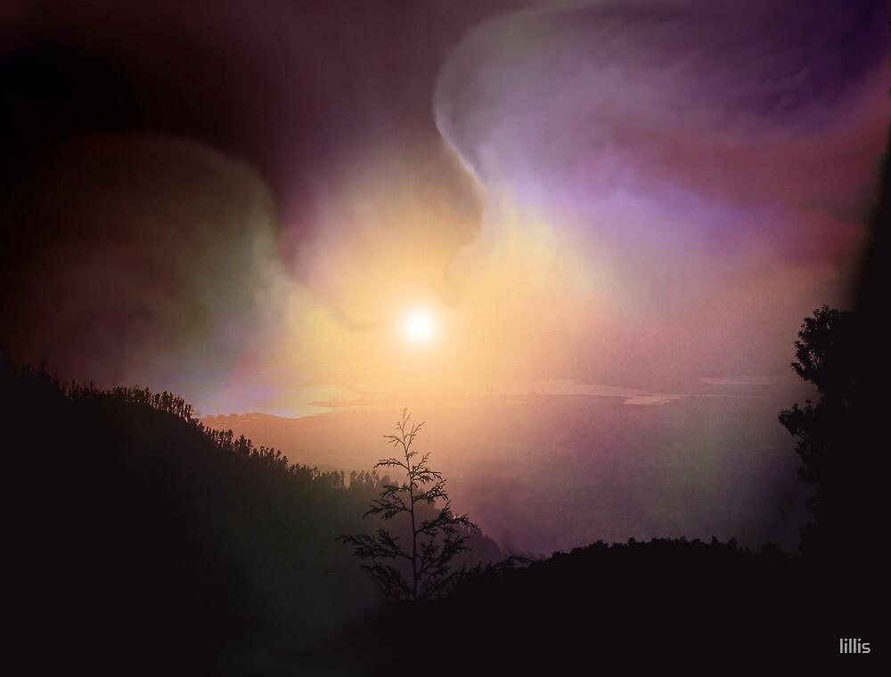 Healing Wings Arising at Dawn by lillis